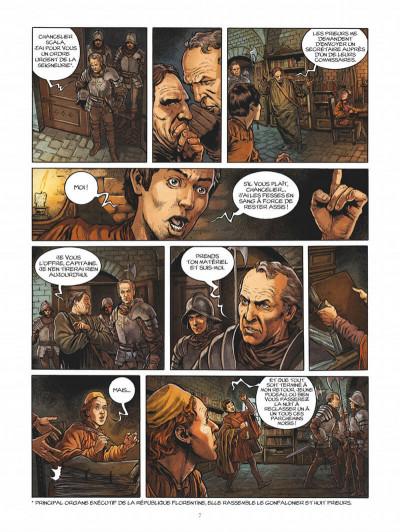 Page 7 Les enquêtes de Machiavel tome 1