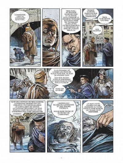 Page 9 Les enquêtes de Machiavel tome 1