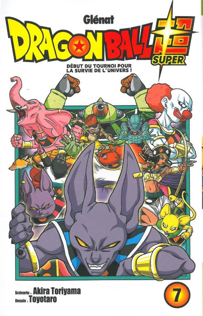 Couverture Dragon ball super tome 7