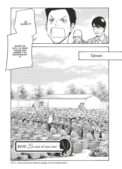Page 6 Les gouttes de dieu - mariage tome 13