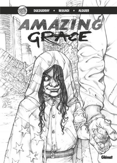 Couverture Amazing Grace - édition noir et blanc tome 1