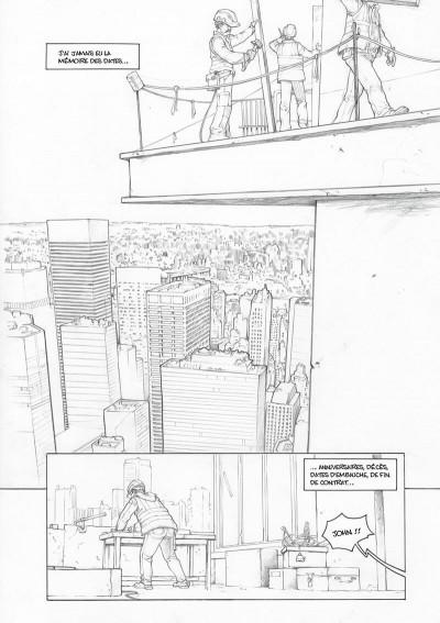 Page 2 Amazing Grace - édition noir et blanc tome 1