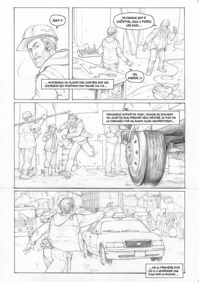 Page 3 Amazing Grace - édition noir et blanc tome 1