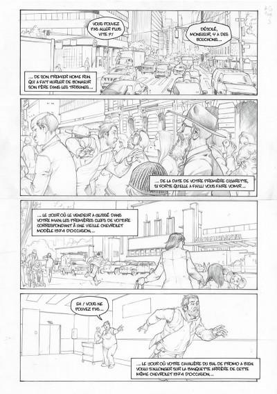 Page 4 Amazing Grace - édition noir et blanc tome 1