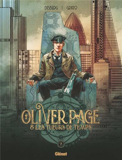 Couverture Oliver Page & les tueurs de temps tome 2