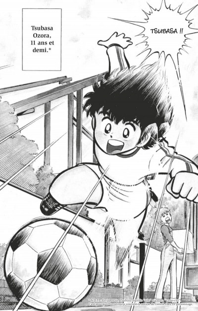 Page 8 Captain Tsubasa tome 1