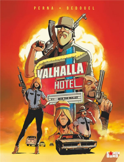 Couverture Valhalla hotel tome 1