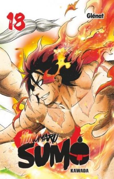 Couverture Hinomaru sumo tome 18