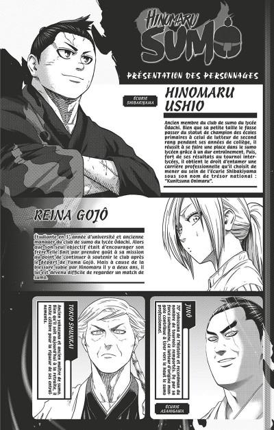 Page 3 Hinomaru sumo tome 20