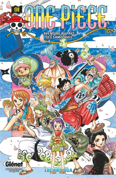 Couverture One piece tome 91