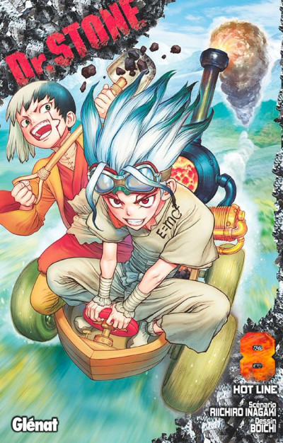Couverture Dr. Stone tome 8