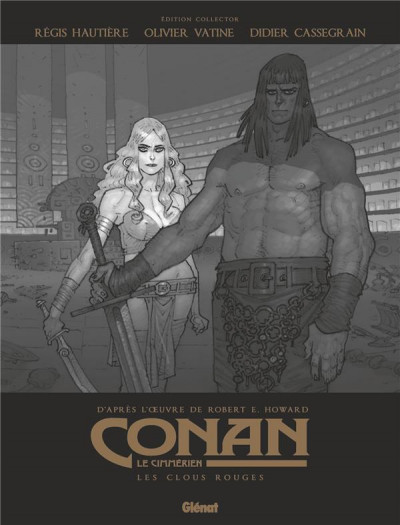 Couverture Conan le Cimmérien - Les clous rouges (édition spéciale noir & blanc)