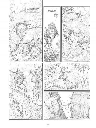 Page 0 Conan le Cimmérien - Les clous rouges (édition spéciale noir & blanc)