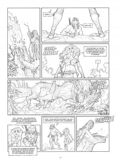 Page 1 Conan le Cimmérien - Les clous rouges (édition spéciale noir & blanc)