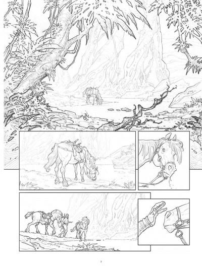 Page 2 Conan le Cimmérien - Les clous rouges (édition spéciale noir & blanc)