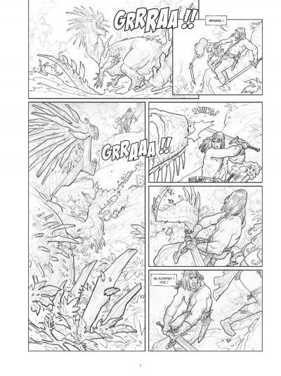 Page 6 Conan le Cimmérien - Les clous rouges (édition spéciale noir & blanc)