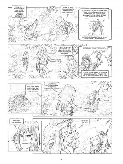 Page 7 Conan le Cimmérien - Les clous rouges (édition spéciale noir & blanc)