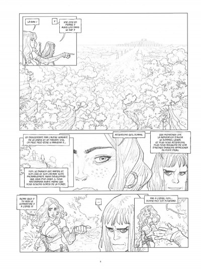 Page 8 Conan le Cimmérien - Les clous rouges (édition spéciale noir & blanc)