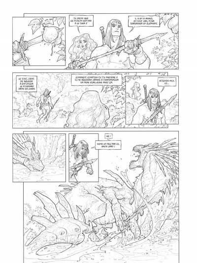 Page 9 Conan le Cimmérien - Les clous rouges (édition spéciale noir & blanc)