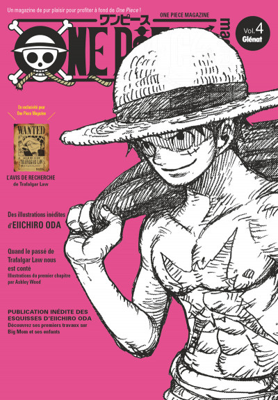 Couverture One piece magazine tome 4