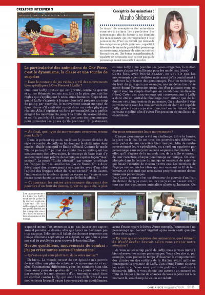 Page 0 One piece magazine tome 4