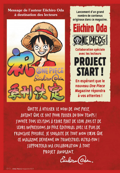 Page 5 One piece magazine tome 4