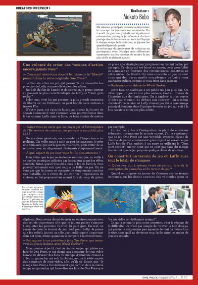 Page 8 One piece magazine tome 4