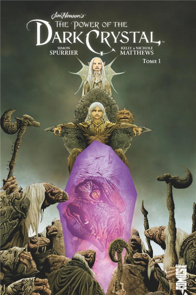 Couverture Dark crystal tome 1