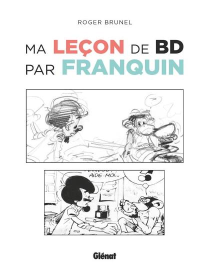 Couverture Ma leçon de BD par Franquin