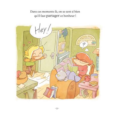 Page 4 Le petit monde de Lou - Danse de la joie !
