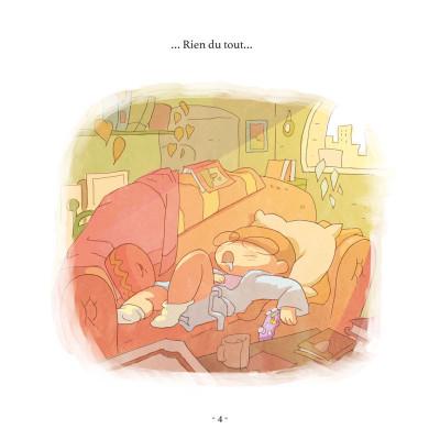 Page 3 Le petit monde de Lou - Un dimanche de rien du tout