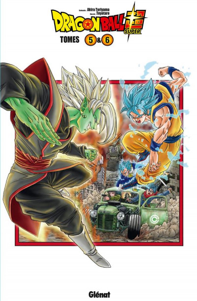 Couverture Dragon ball super - coffret tomes 5 et 6