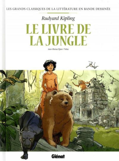 Couverture Le livre de la jungle en BD