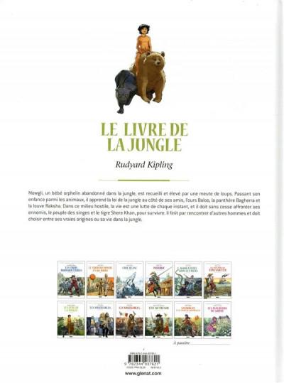 Dos Le livre de la jungle en BD