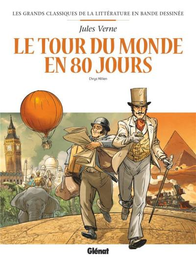 Couverture Le tour du monde en 80 jours en BD