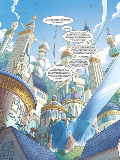 Page 6 Les mondes d'Ewilan tome 1