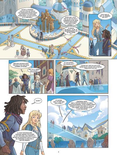 Page 7 Les mondes d'Ewilan tome 1