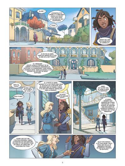 Page 8 Les mondes d'Ewilan tome 1