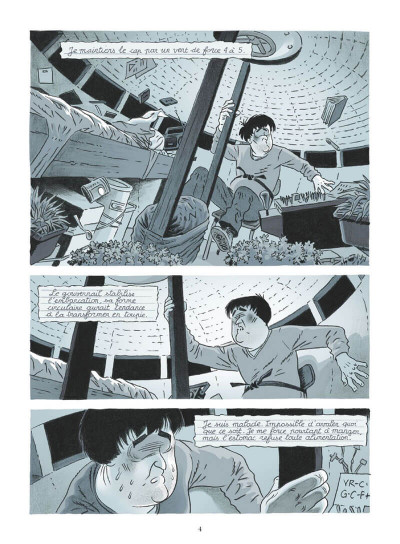 Page 4 La soucoupe et le prisonnier