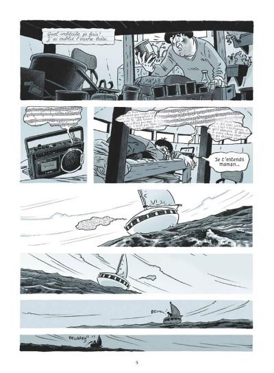 Page 5 La soucoupe et le prisonnier