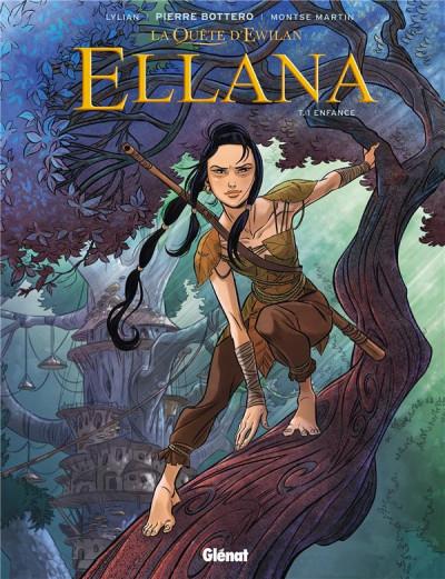 Couverture Ellana tome 1 (+ mini silhouette offerte)
