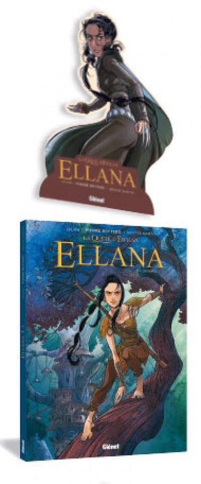 Page 1 Ellana tome 1 (+ mini silhouette offerte)