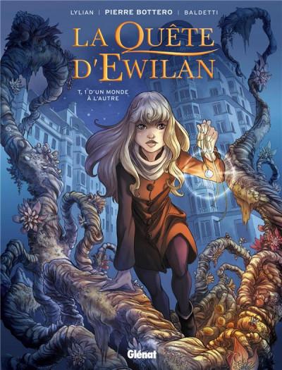 Couverture La quête d'Ewilan tome 1 (+ mini silhouette offerte)