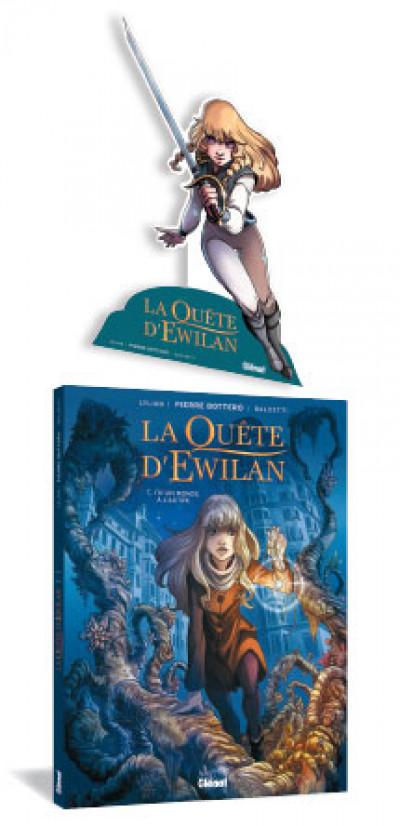 Page 1 La quête d'Ewilan tome 1 (+ mini silhouette offerte)