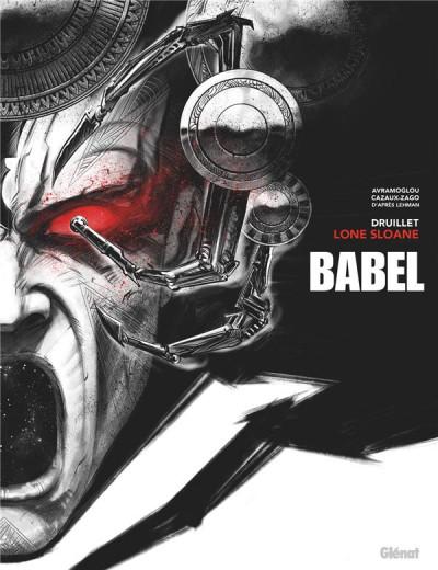 Couverture Lone Sloane - Babel - éd. noir & blanc