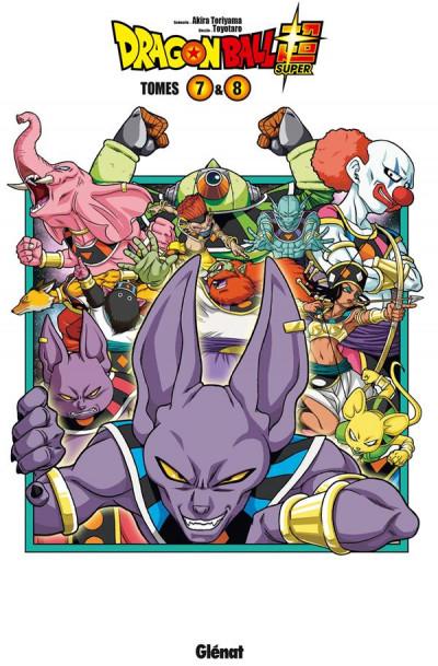 Couverture Dragon Ball Super - coffret tomes 7 et 8