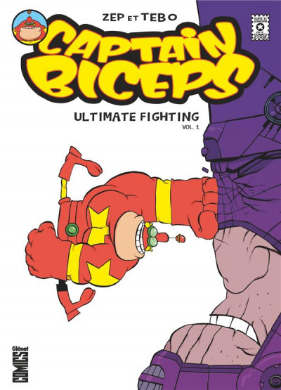 Couverture Captain biceps - ultimate fighting tome 1