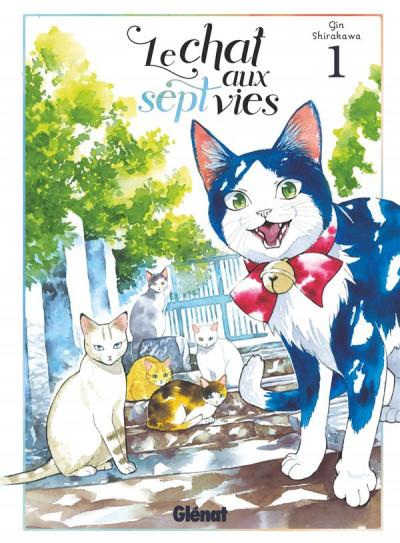 Couverture Le chat aux sept vies tome 1
