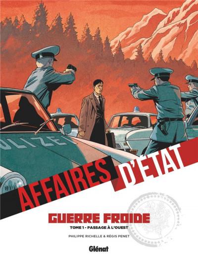 Couverture Affaires d'état - guerre froide tome 1