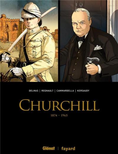 Couverture Churchill - coffret tomes 1 et 2